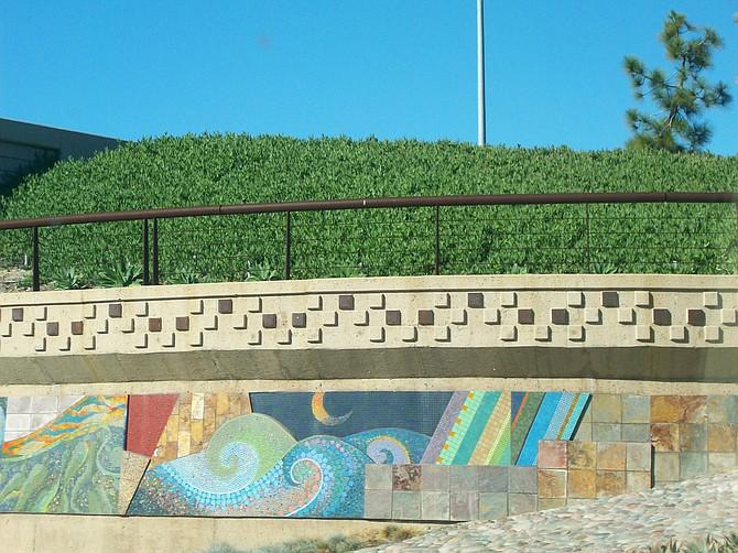 Street art in Solana Beach.