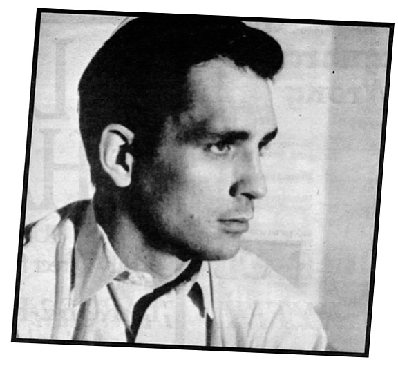 Jack Kerouac. Jack agreed to take a blood test to prove or disprove his paternity.