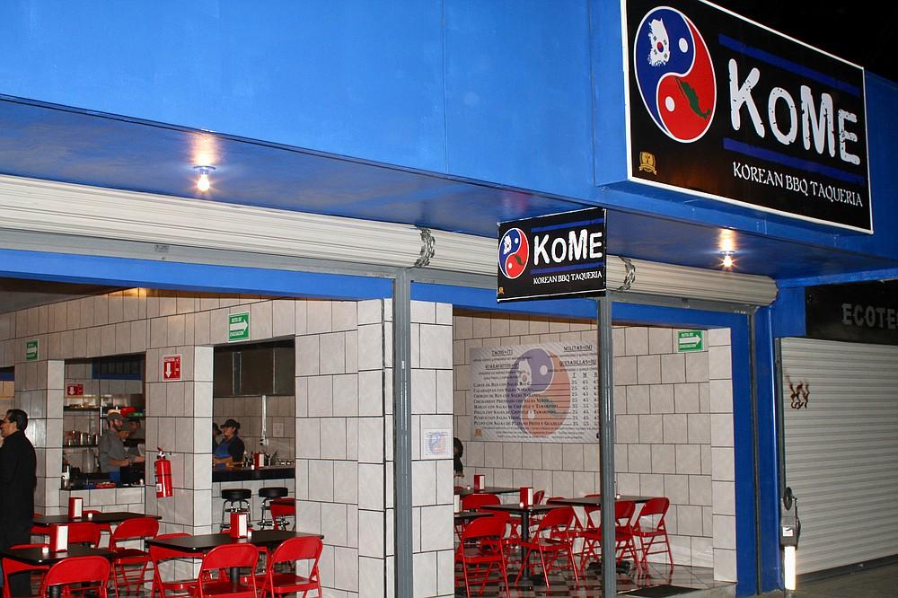 KoMe on 7th Street, near Revolución