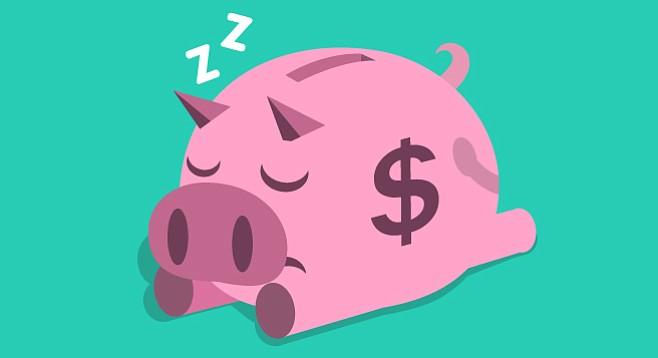 Snoozing economy