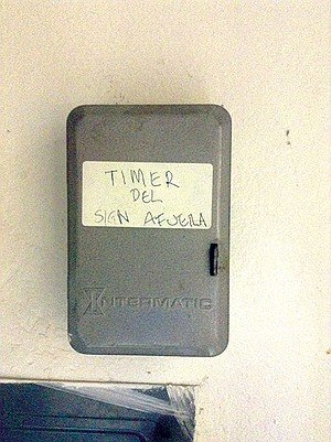 """""""Timer"""" pronounced """"time-air"""" in this case"""