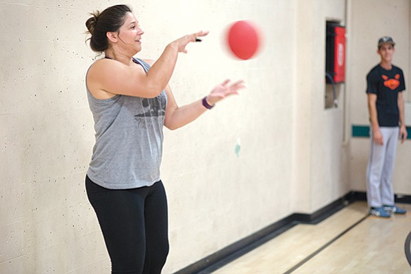 Martine de Bijl started her own dodgeball league after her search for a San Diego chapter came up empty.