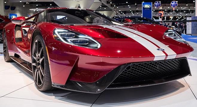 Ford's 600-horsepower GT