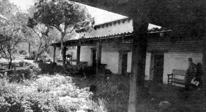 Casa de Estudillo. The Estudillo family hosted all wedding receptions in the largest room of their house in Old Town.
