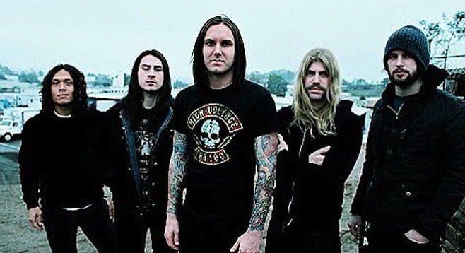 As I Lay Dying's Tim Lambesis (center) suing doctors from prison to the tune of $35 million. Meanwhile, his old bandmates bring Bay Park bar Brick by Brick back to life with some very heavy metal.