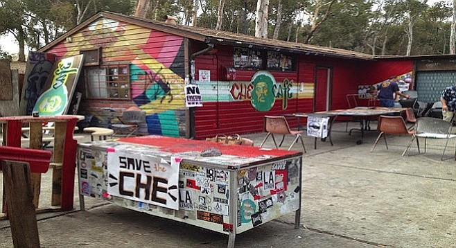 UCSD's campus collective Ché Café, in a fight for its life in 2015, continues to produce 20 shows a month...without a lease.