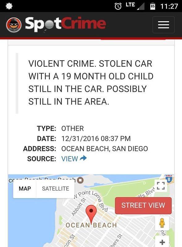 Crime Alert App