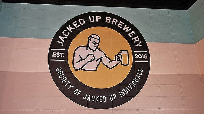The Society of Jacked Up Individuals is the cheeky name given Jacked Up Brewery's beer club.