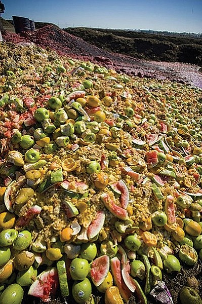 According to the city, complaints pointed to the greenery/food waste operation as a potential source and that is part of the Zero Waste Plan.