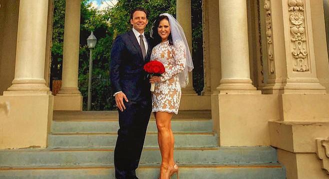 Nathan Fletcher and Lorena Gonzalez