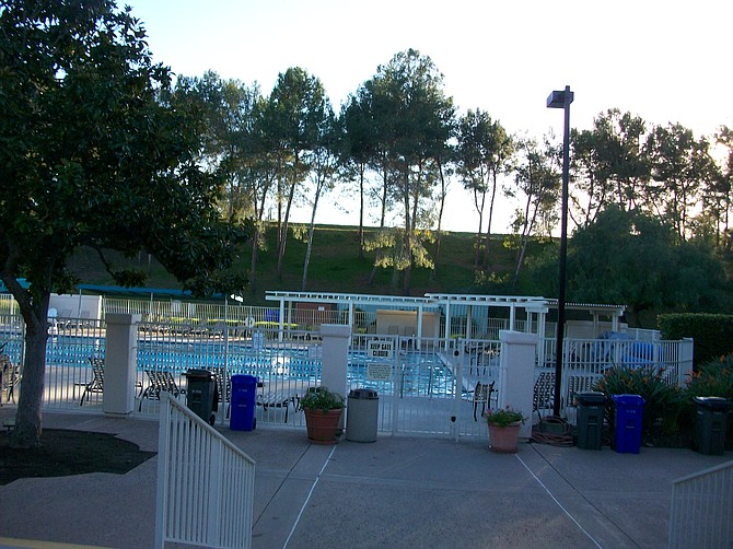 Rancho Bernardo Community Center swimming pool.