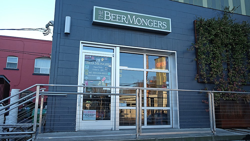 The Beer Mongers is happy to sell San Diego craft beer to its Portland clientele — provided it's fresh.
