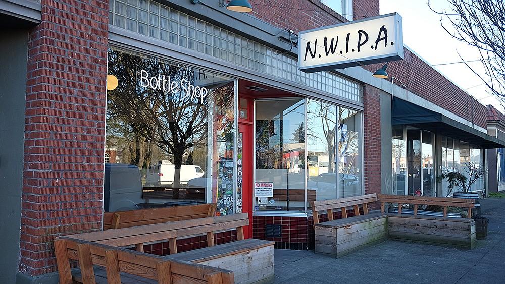 Portland craft beer shop N.W.I.P.A., aka N-Dubs