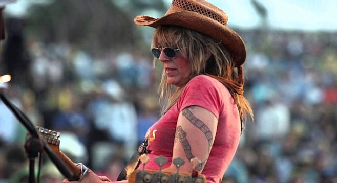 """The patron saint of busted love and broken dreams,"" Lucinda Williams, sets up at Belly Up on Sunday and Monday nights!"