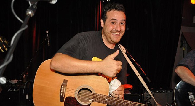After a few years off to do the dad thing, Lenny Morris is back to gigging, and it's not how he remembers doing business...