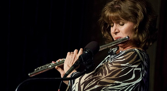 Flutist Lori Bell's Brooklyn Dreaming album has been recognized by Downbeat magazine and Huffington Post as one of the best of 2016.