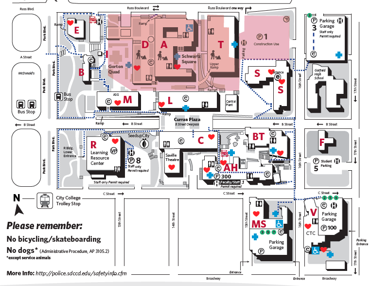 Photo: City College campus map | San go Reader on sacramento city college map, city college of san francisco, city college virtual tour, south city campus map, city college nyc, pcc map, cuny city college map, city college san diego ca, grove city college map, city college graduate programs, riverside city college map, city college accreditation, san diego city map, city tech map, sd city college map, la city college map, san jose city college map, long beach city college map, city college events,