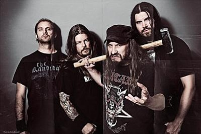 Swedish death-metal band Entombed A.D. brings Dead Dawn to Brick by Brick on Monday.
