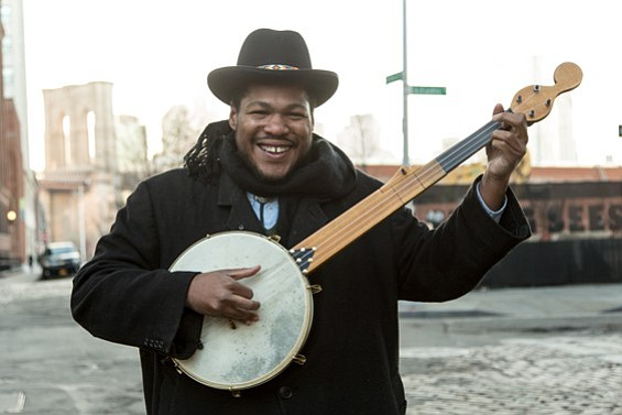"Multi-instrumental bluesman Jerron ""Blind Boy"" Paxton plays the Loft at UCSD on Thursday."