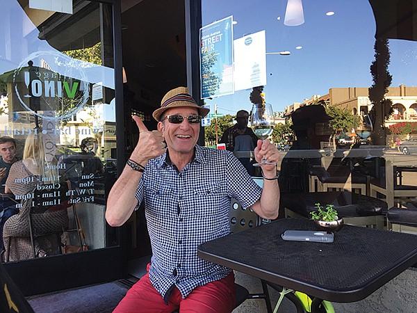 Peter LaMontia at Village Vino