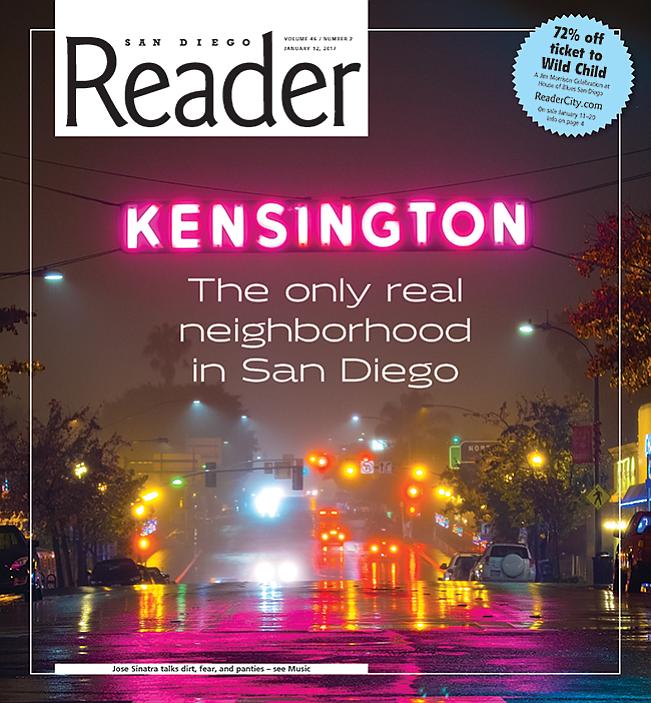In Kensington, it's different