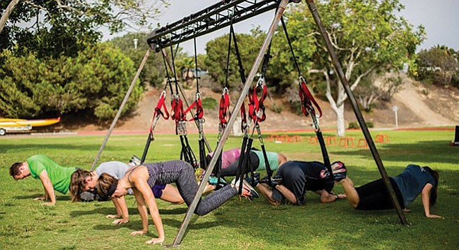 San Diego Core Fitness. Looks like fun.