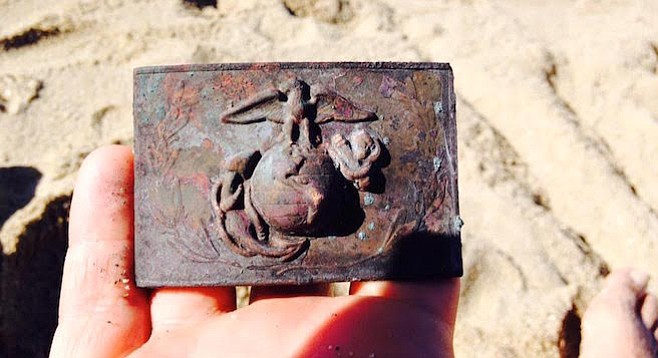 Found at the beach January 8