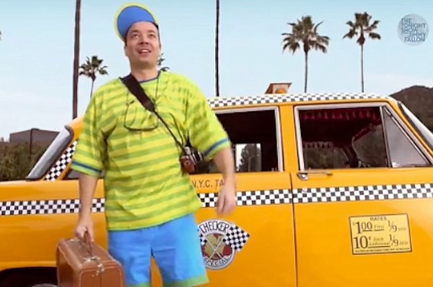 Only hipsters — and Jimmy Fallon —find cause for dressing like white, bizarro-world versions of the Fresh Prince.
