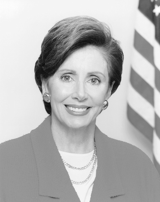 Nancy Pelosi. Steve's goal with Pelosi was to have her help organize a San Diego fund-raiser that featured all of the women of the California delegation.