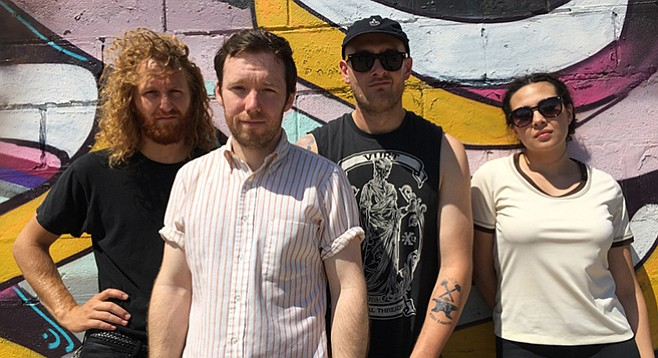 """""""A few steps behind the times"""" is how one reviewer describes the band American Wrestlers."""