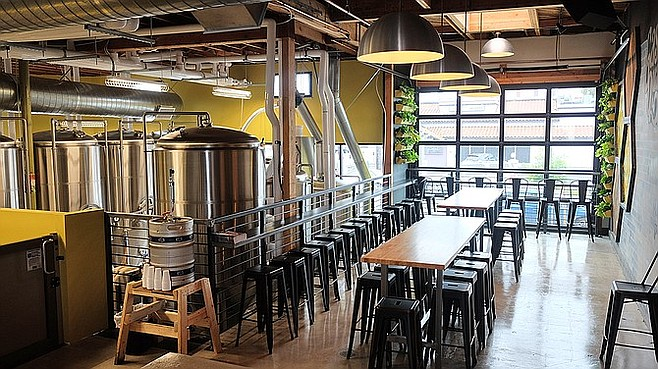 23-year-old San Diego Brewing offers a well-designed space, despite being new to the dedicated tasting-room model.