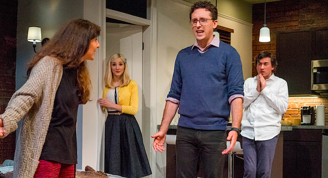 The underlying enmity in Bad Jews smacks of familial truth. To wit, only relatives could hate each other so.