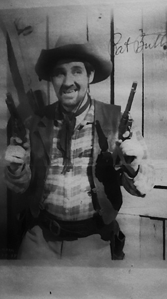 Actor Pat Buttram was one of many Wild West stars to film at Pioneertown in its heyday.