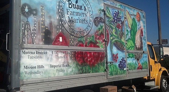 Brian Beevers managed a City Heights market before setting out on his own in 2009.