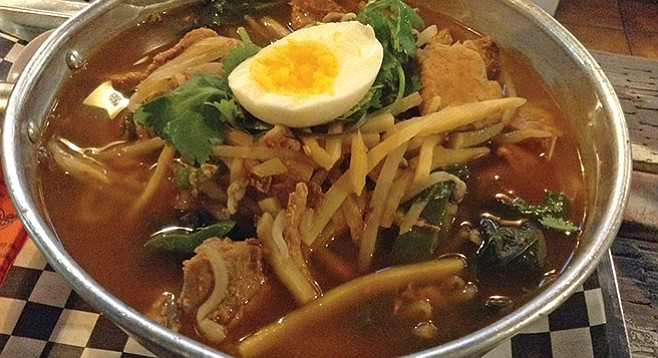 My MakemeHot spicy noodle soup