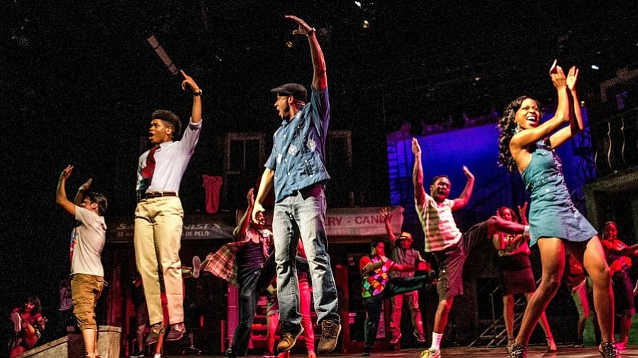 In The Heights, at the San Diego Rep, choreographed by Javier Velasco