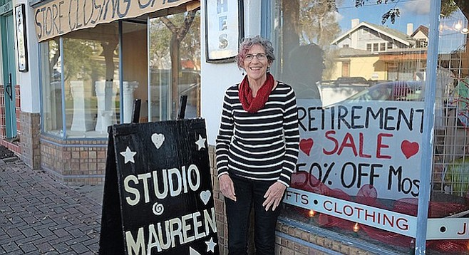Maureen Ceccarelli is retiring after 29 years hosting the arts in South Park.
