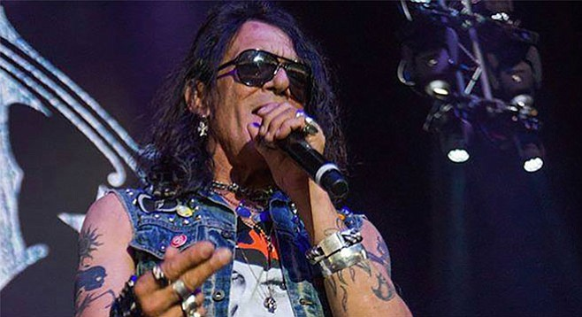 "Ratt singer Stephen Pearcy will release a solo album, Smash, on January 27. Says ""the dust is settling"" around Ratt's legal disputes.   - Image by Joe Schaeffer"