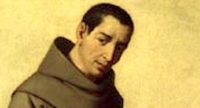 Saint Diego. Franciscans of Alcala arrived carrying the century-old cadaver of Fray Diego, which they promptly placed in bed with the dying prince.