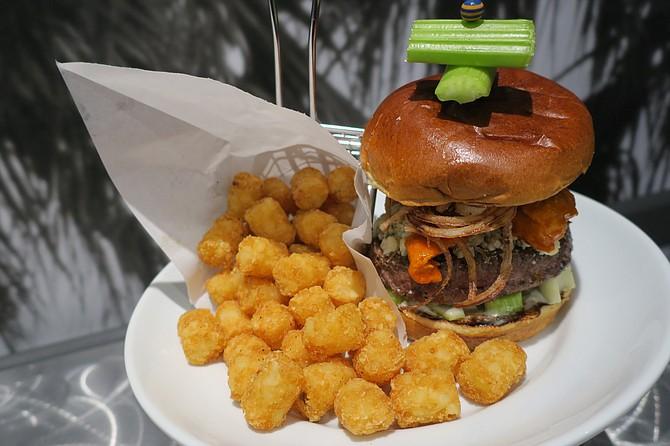 The D&B Burger