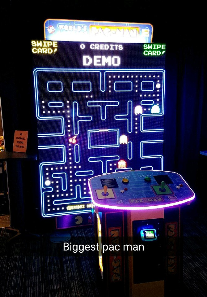 World's Largest Pac-Man