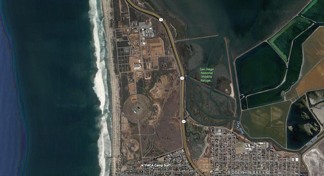The campus will be within Coronado's city boundaries but next to the Imperial Beach border.