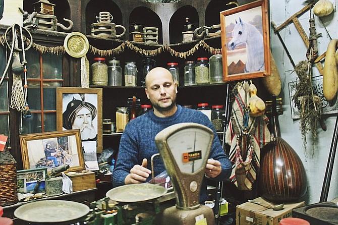 The Kurdi & Berit spice shop in Akko.