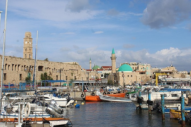 The port of Akko.