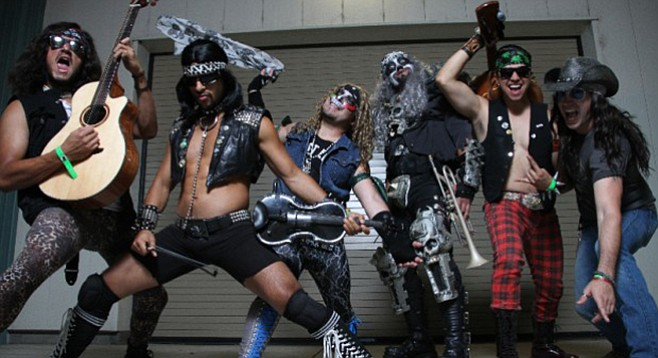 Heavy metal con queso: Metalachi will be serving it up at Casbah Friday night!
