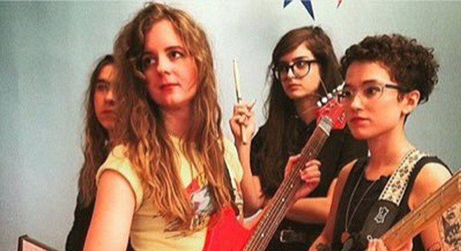 Memphis garage-punk gals the Nots hit the Hideout on Wednesday.