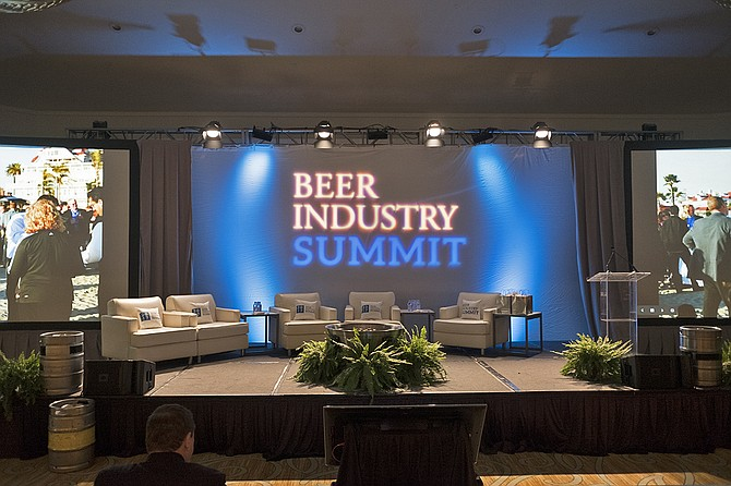 The 2017 Beer Industry Summit took place at Hotel del Coronado at the end of January.