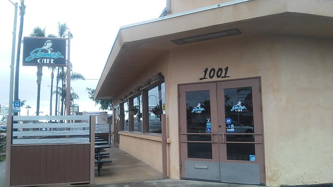 Jennie's Cafe stands out among the many breakfast eateries on Coast Highway in Oceanside
