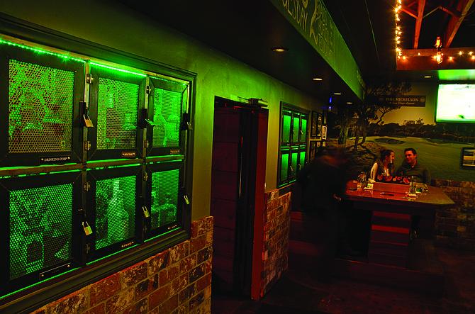 Boom! Liquor lockers (above) - Image by Chris Woo