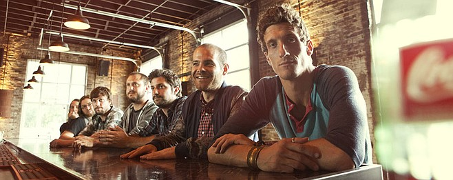 Nawlins roots rocker the Revivalists set up at Belly Up on Tuesday.